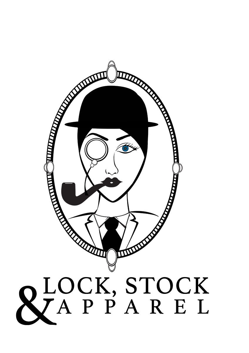 Lock Stock And Apparel Logo